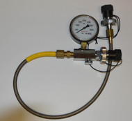 Used - High Quality S/S Transfill Whip - Oxygen Clean