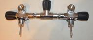 Used - Dive Rite 300 Bar Manifold - Just Rebuilt/O2 Clean