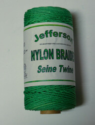 Green Nylon Braided Line - #30 for 600ft Continuous