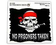 No Prisoners Taken Sticker
