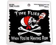 Time Flies Sticker