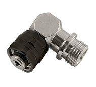Brass Right Angle Adaptor