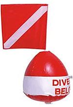 Diver Below Float