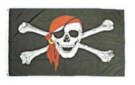 Skull n Crossedbones Pirate Flag