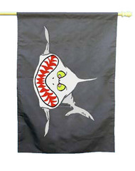 Angry Shark Flag