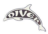 Dolphin Diver Emblem