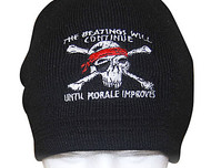 The Beatings Will Continue Knit Beanie