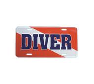 ''Diver'' Flag Embossed