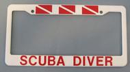 Scuba Diver License Plate Cover