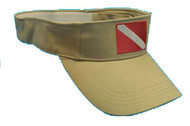 Dive Flag Visor - Tan