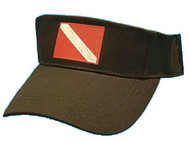 Dive Flag Visor - Black