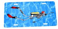 Bone Diver License Plate