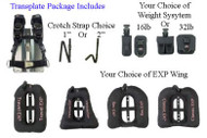 Transplate EXP Package S/S Backplate - Large