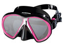 Atomic Aquatics Sub Frame Mask - Clear Skirt w/ Pink