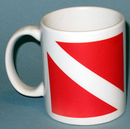 Dive Flag Cup