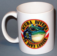 Scuba Divers - Go Down Longer Cup