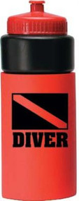 Diver Water Bottle - Red