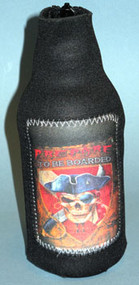 Prepare To Be Boarded Bottle Koozie