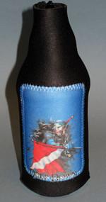 Deep Down Bottle Koozie