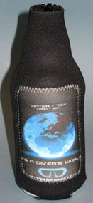 A Divers World Bottle Koozie