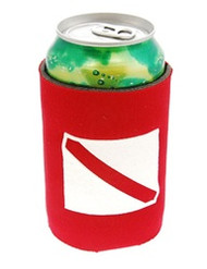 Collapsible Dive Flag Can Koozie