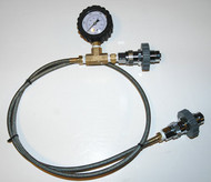 4' Transfill Whip with Gauge