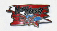 NJ Wreck Diver Pin