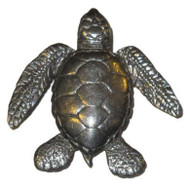 Turtle Pin - Pewter