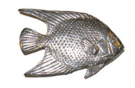 Angel Fish Pin - Pewter