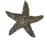 Starfish Pin - Pewter