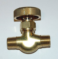 Needle Valve - O2 - Male to Male