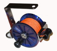 Dive Rite Safety Reel - Orange Line Version - #24 Line