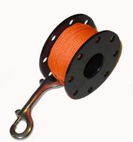 125ft Dive Rite Finger Spool - Orange Line Version