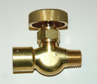 Needle Valve - NO O2 - Female to Male