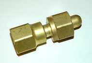O2 to Inert Regulator Gas Adapter