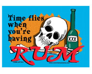 Time Flies When You Are Having Rum Magnet