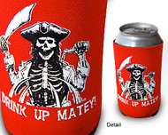 Drink Up Matey Can Cooler