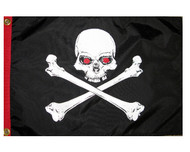 Blood Eyes Pirate Flag