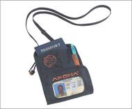 Akona Travelers Neck Wallet