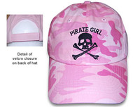 Pirate Girl Hat - Camo