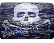 Pirates Only Door Mat