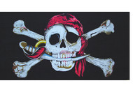 Jolly Roger Beach Towel