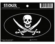 Jack Rackham Oval Sticker