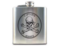 Pirate Hip Flask- Captain's Reserve
