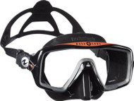 Aqua Lung Ventura + Mask - Black Silicone - Black/Orange