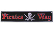 Pirates Way Tin Sign