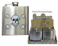 Pirate Hip Flask - Blarney Bones