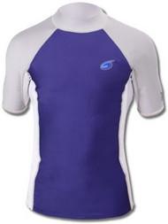 Henderson XSPAN Men's Short Sleeve Shirt Navy - Large