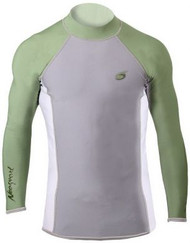 Henderson XSPAN Men's Long Sleeve Shirt Green - Medium