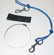 NESS Stage Bottle Rigging Systems - Blue - XL Bolt Snap For 40's